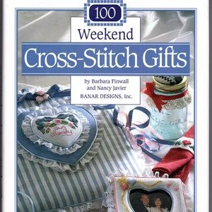 100 Weekend Cross-Stitch Gifts by Finwall & Banar